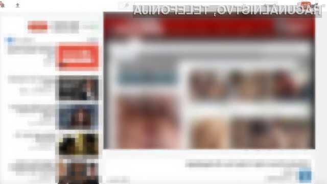 Spletni portal YouTube je kot nalašč za shranjevanje in posredovanje pornografskih in piratskih vsebin!