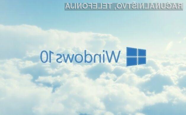 Novi operacijski sistem Windows 10 Cloud bo namenjen tistim, ki računalnik uporabljajo za enostavna opravila.