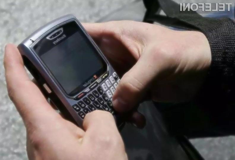 Delež mobilnega operacijskega sistema BlackBerry OS je padel na nič odstotkov!
