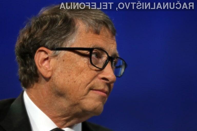 Bill Gates bi vse robote obdavčil na enak način kot ljudi!