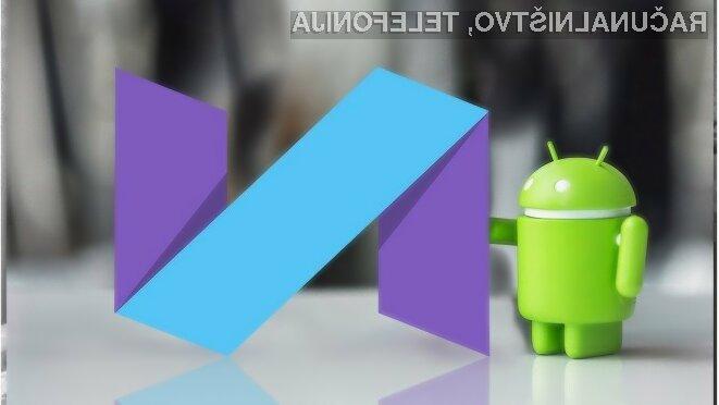 Android 7.1.2 Nougat bo sprva pričakovano na voljo za uporabnike Googlovih mobilnih naprav.