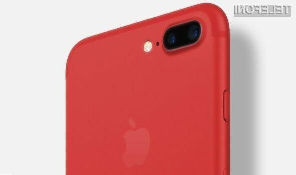 Marca prihajajo rdeči iPhoni z več prostora za podatke