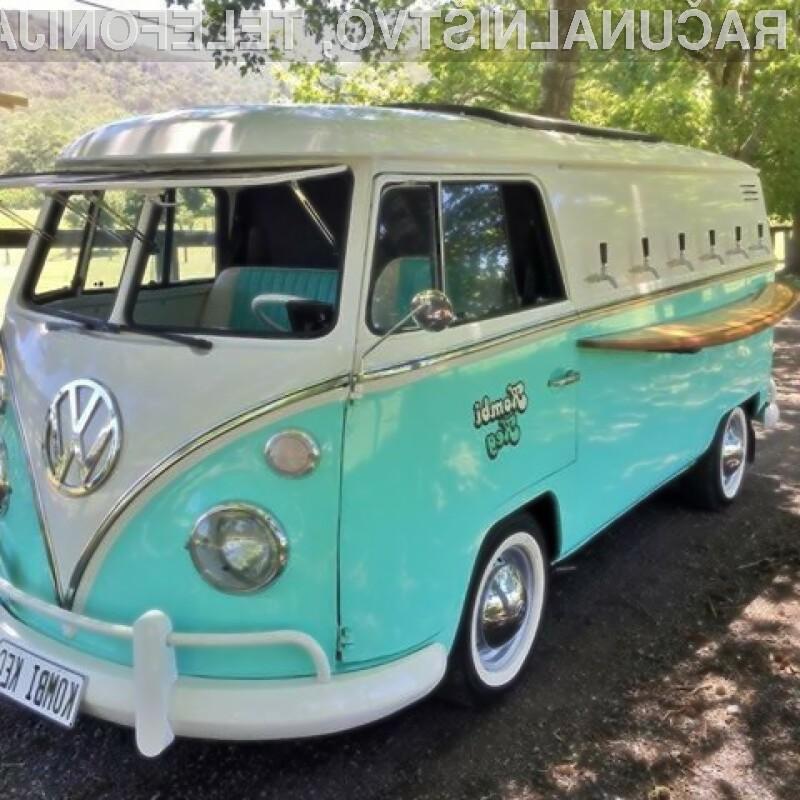 Beer Bulli: VW hippie van v potujočo pivnico!