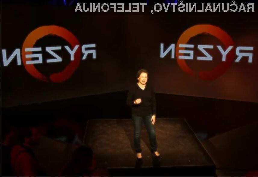 Cena najzmogljivejšega procesorja AMD Ryzen se bo na evropskem trgu po vsej verjetnosti gibala okoli 500 evrov.