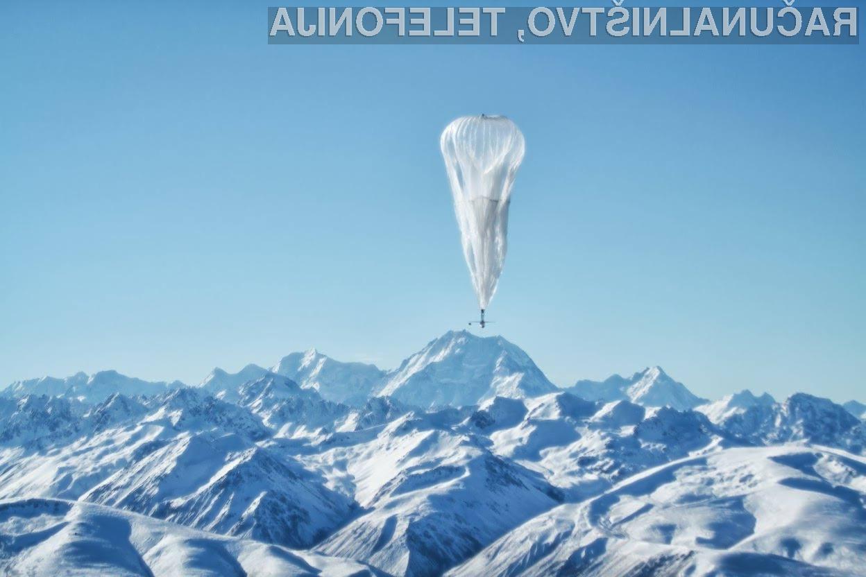 Umetna inteligenca bo močno pocenila projekt zagotovitve dostopa do interneta z uporabo balonov!