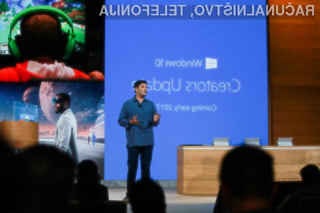 Operacijski sistem Windows 10 po s posodobitvijo Creators Update pridobil veliko uporabnik možnosti!