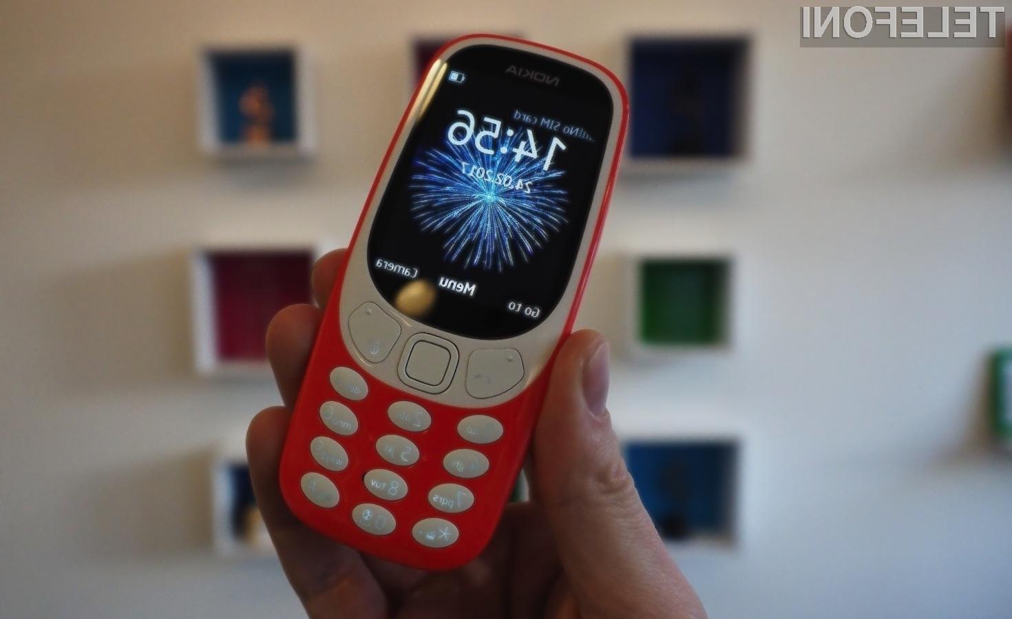 Od prenovljenega mobilnega telefona Nokia 3310 se pričakuje veliko, čeprav gre za napravo z omejenimi možnostmi.