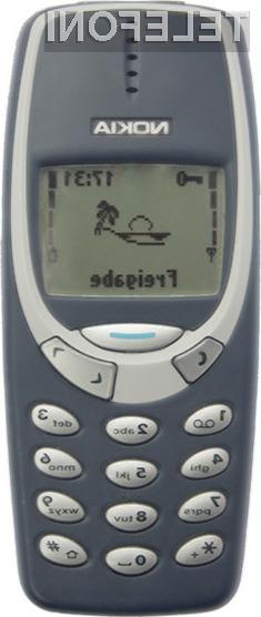 Legendarna Nokia 3310 se vrača na prodajne police