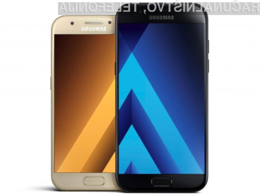 Nova serija Samsungovih telefonov Galaxy A je vodoodporna