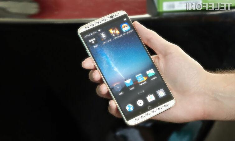 Pametni mobilni telefon ZTE Gigabit Phone ponuja vpogled v tehnologijo, ki nam bo spremenila življenja!