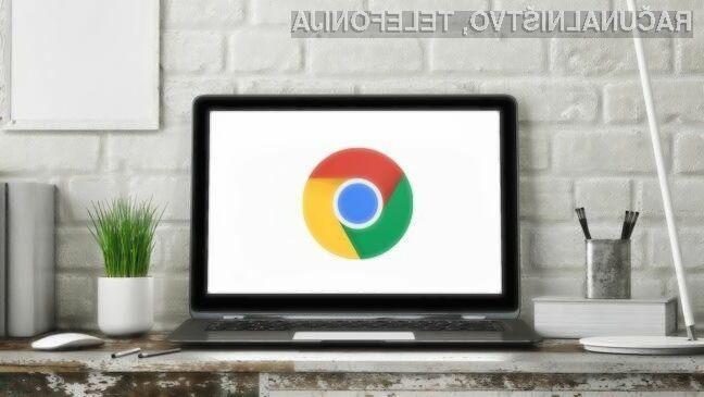 Z novim brskalnikom Chrome bo vaš prenosnik deloval dlje