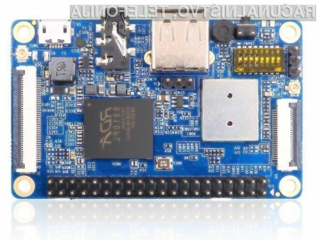 Na kompaktnem računalniku Orange Pi 2G-IoT lahko med drugim poganjate Android in Linux.
