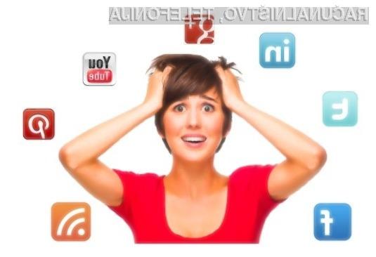 Pogosta uporaba družbenih omrežij povzroča občutek osamljenosti