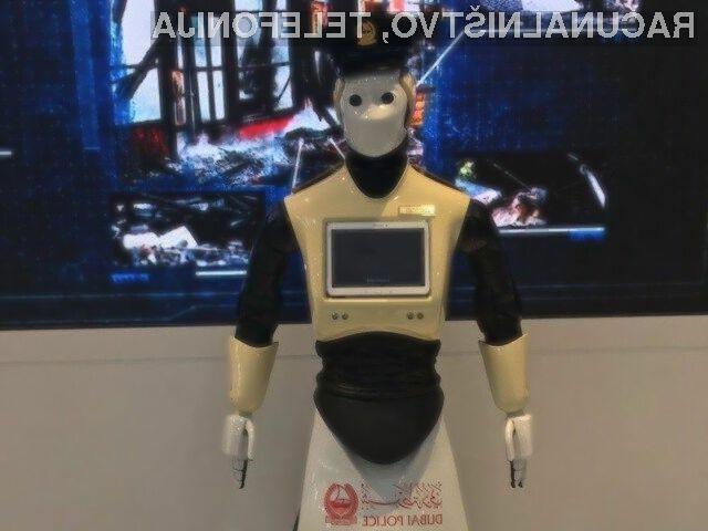 Kot vse kaže, bodo roboti kmalu lahko nadomestili tudi policiste!