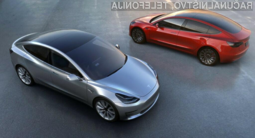 Kakšno cestno zakonodajo si želijo Apple, Tesla in Waymo