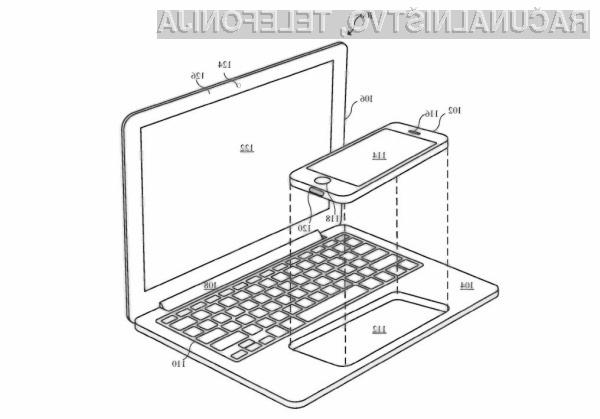 Apple razmišlja o prenosniku, ki bi ga poganjal iPhone!