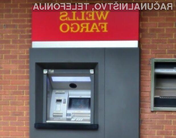 Za dvig denarja na bankomatih banke Wells Fargo bodo komitenti potrebovali zgolj pametni mobilni telefon.