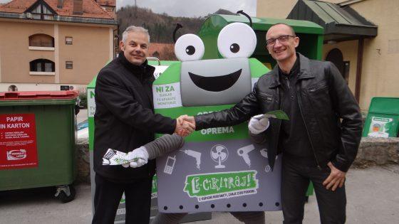 Občina Laško z novimi možnostmi oddaje malih starih aparatov in odpadnih baterij