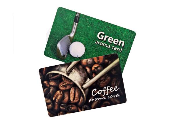Dišeče kartice z izbranim vonjem so lahko prvi korak v smeri izbire prepoznavnega vonja vaše blagovne znamke ...