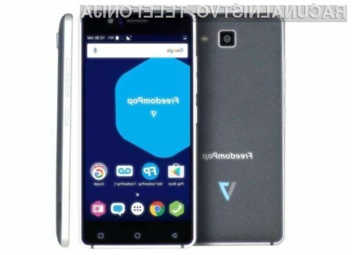 Pametni mobilni telefon FreedomPop V7 za malo denarja ponuja relativno veliko!