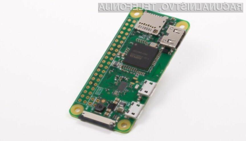 Novi Raspberry Pi Zero W je opremljen tako z brezžično povezavo Wi-Fi 802.11n kot povezavo Bluetooth 4.0.