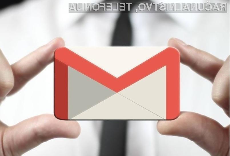 Videoposnetke lahko odslej predvajamo kar znotraj elektronskega poštnega odjemalca Gmail!