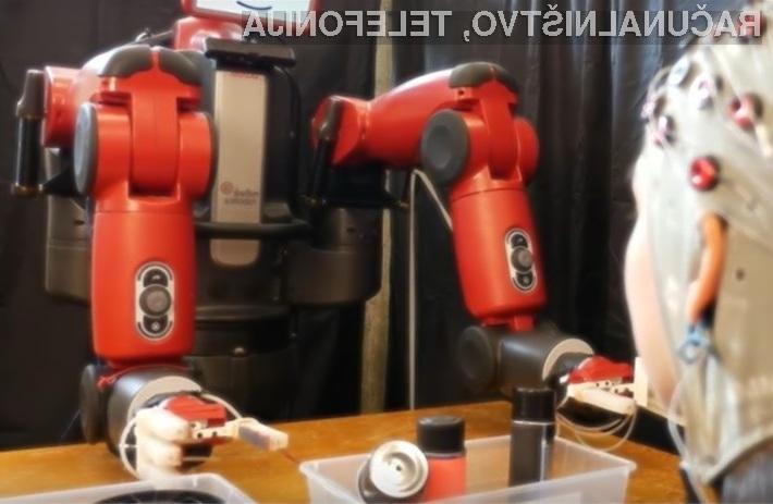 Spoznajte robota, ki lahko bere vaše misli