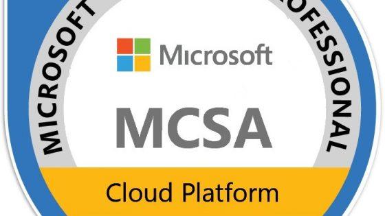 Izobraževanje za pridobitev naziva »Microsoft Certified Solutions Associate (MCSA)«
