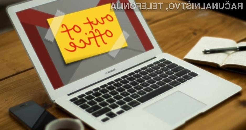 Ekskluzivno pravico nad funkcionalnostjo »out-of-office« je pridobilo podjetje IBM.
