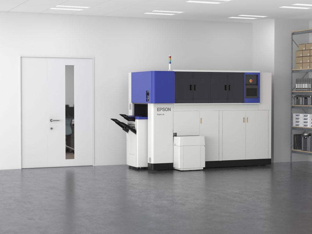 Prvi pisarniški sistem na svetu za proizvodnjo papirja s suhim procesom prihaja v Evropo
