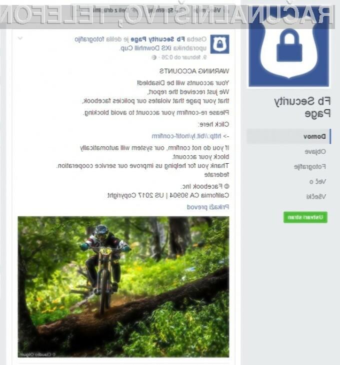 Goljufi bodo poskušali vse, da bi se dokopali bo vašega Facebook gesla!