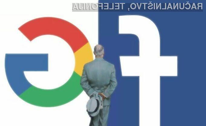 Google in Facebook žrtvi spletne goljufije