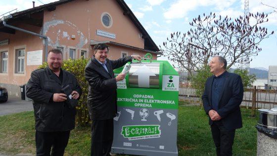 Občine Dobrepolje, Grosuplje in Ivančna Gorica so prejele nove ulične zbiralnike