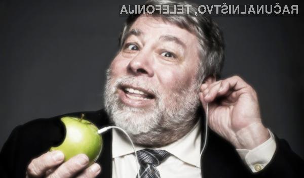 Soustanovitelj Appla, Steve Wozniak, postavil Galaxy S8 pred iPhone