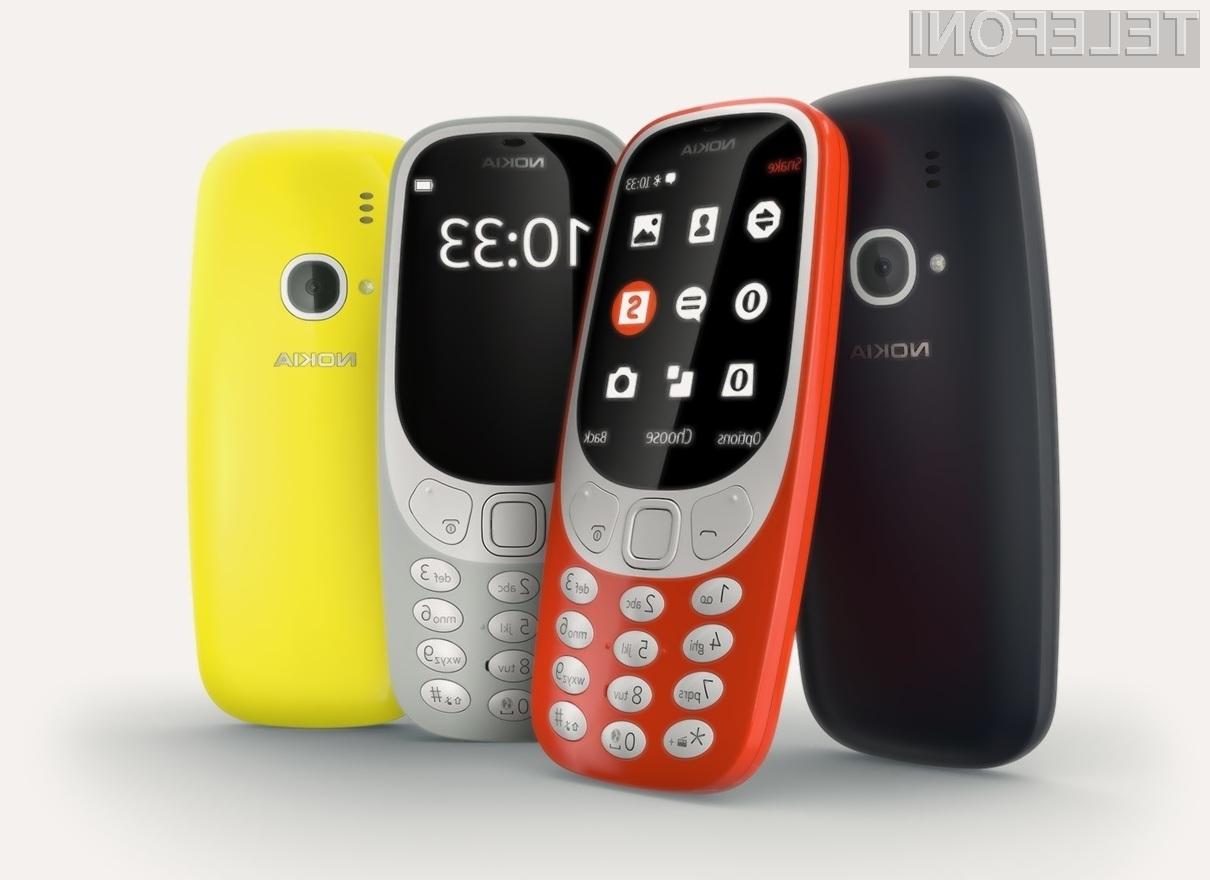 Novi telefon Nokia 3310 bo v Evropi mogoče kupiti že od konca aprila dalje!
