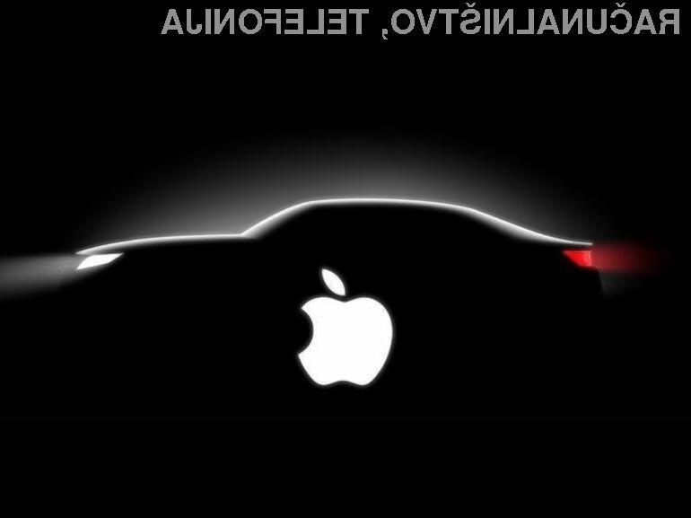Apple ima očitno velike načrte na področju avtonomnih vozil.