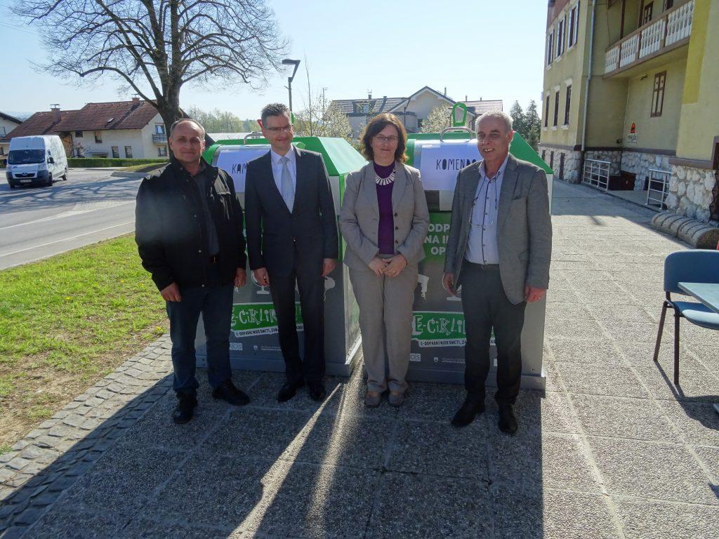 Nova možnost oddaje starih aparatov v občinah Kamnik in Komenda
