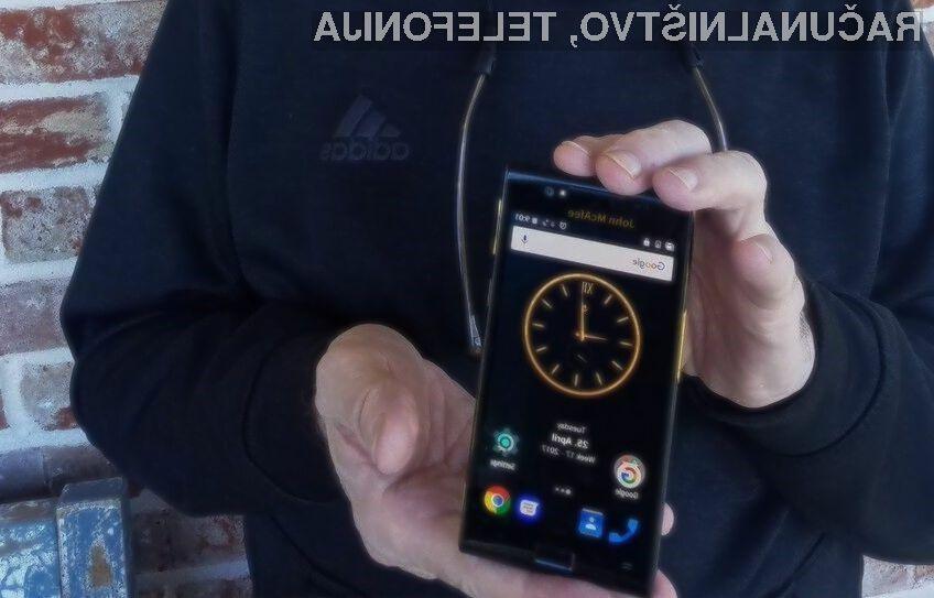 Za nakup enega najvarnejših telefonov Android bo treba odšteti preračunanih 1.010 evrov!