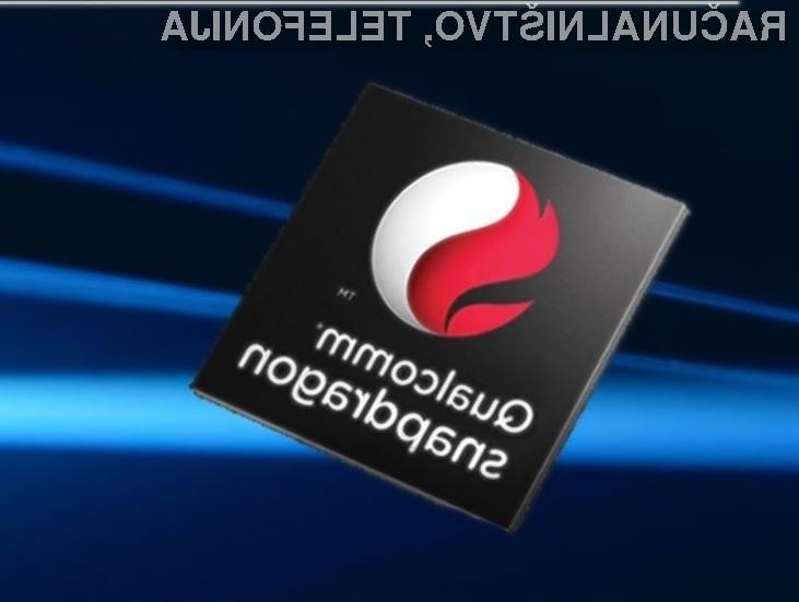 Računalnike s procesorji Qualcomm in operacijskim sistemom Windows 10 bomo lahko kupili že konec leta!