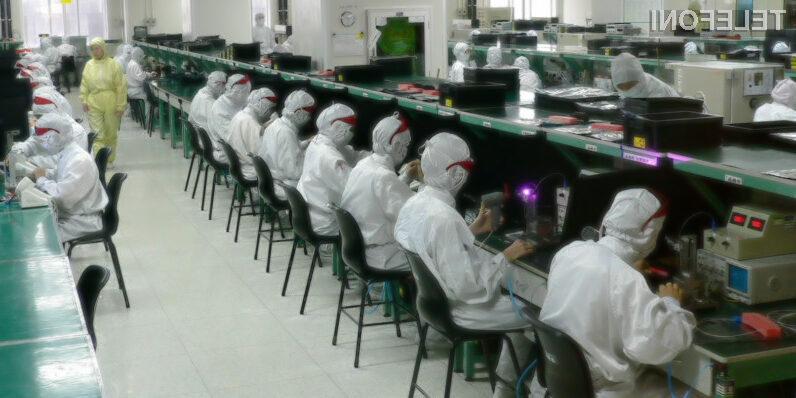 Poglejte v kakšnih razmerah delavci izdelujejo Applove naprave