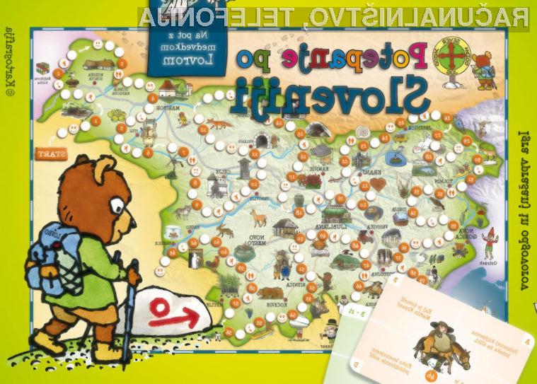 Didaktična igra Potepanje po Sloveniji – IZKLICNA CENA 1 €!