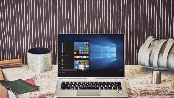 Microsoft Windows Creators Update na vrhunskem računalniku Lenovo Yoga 910