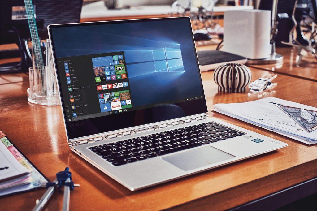 Microsoft Windows 10 Lenovo Yoga 910