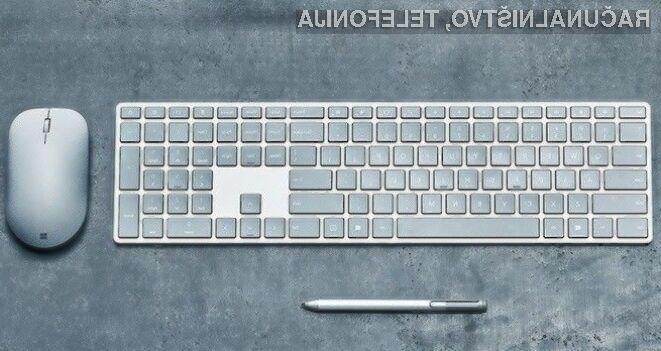 Računalniška tipkovnica Microsoft Modern Keyboard bi pisana na kožo uporabnikom operacijskega sistema Windows 10!