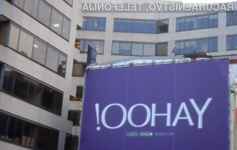 Yahoo bi se lahko poslovil že letos poleti