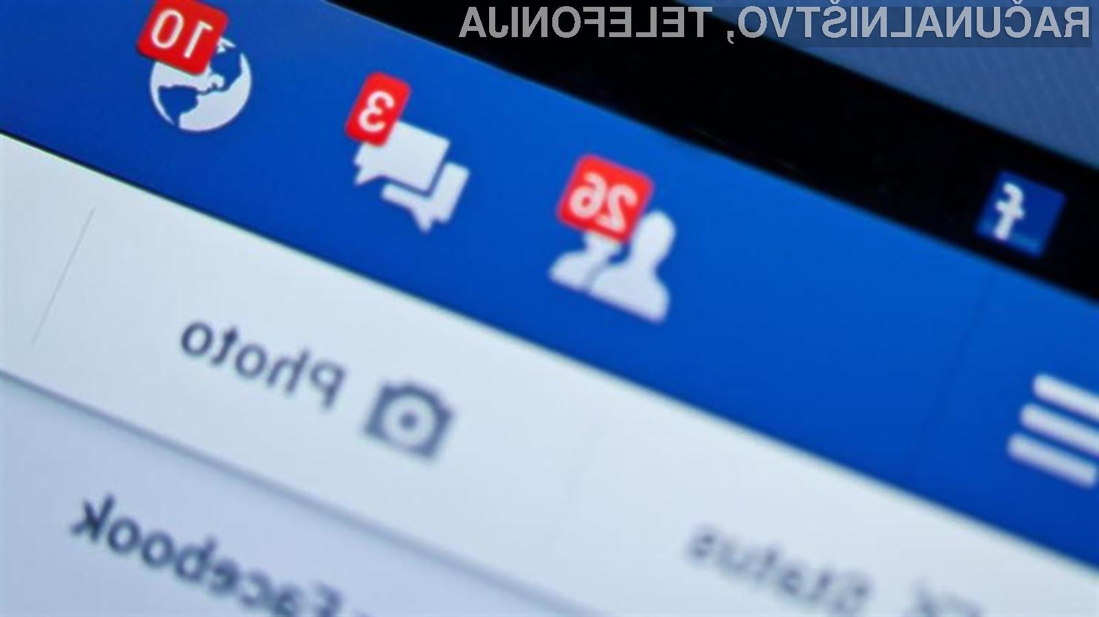 Facebook pripravlja precej strožja pravila za objave na portalu
