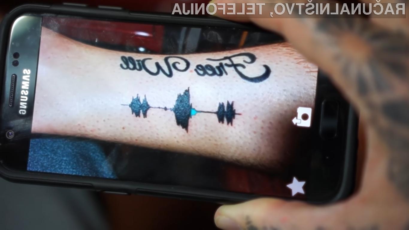Zvočne tetovaže bodo sprva na voljo uporabnikom v Združenih državah Amerike.