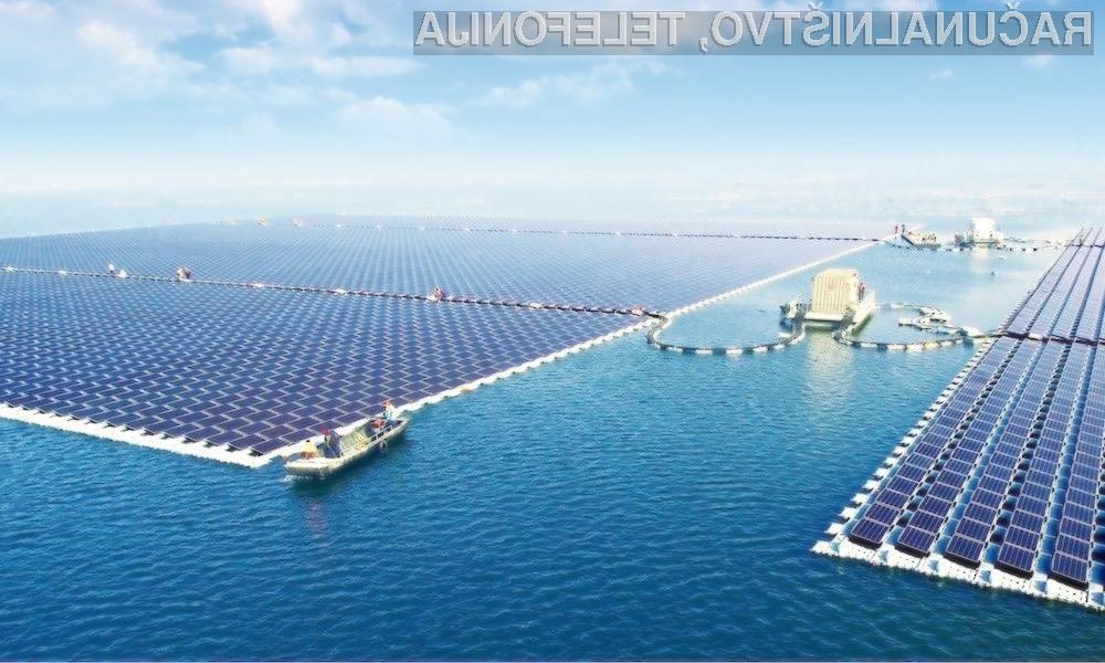 Kitajska z največjo plavajočo sončno elektrarno na svetu