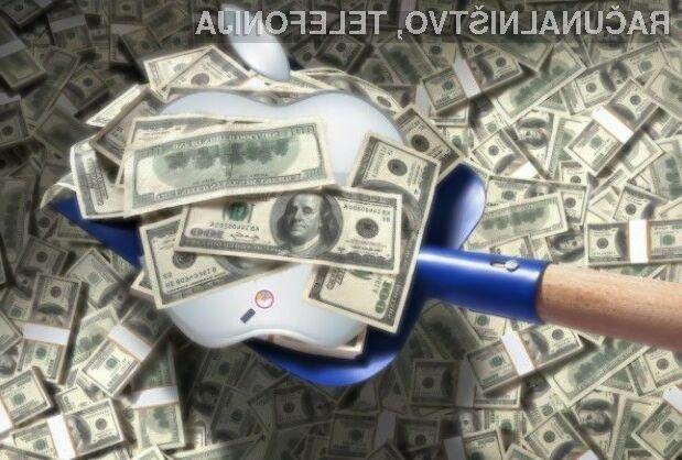 Podjetje Apple naj bi letos kar precejšnji del privarčevanega denarja namenilo prevzemom uspešnih podjetji.