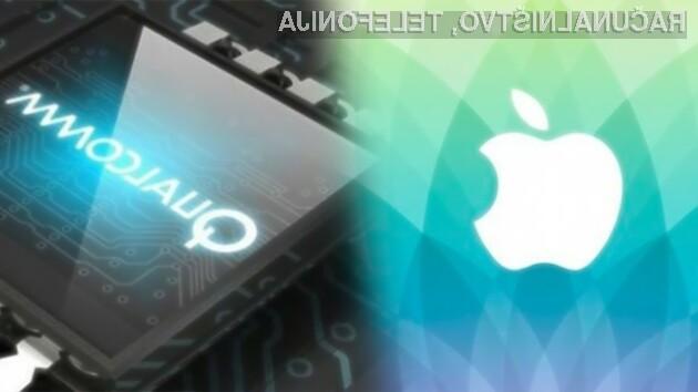 Apple je podjetje Qualcomm nedvomno postavilo v nezavidljiv položaj!